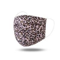Leopard Печатных лиц Маски Висячей уха Мода Респиратор многоразовой ткань для лица Маска моющегося Leopard Рот Обложка Открытого Зонт CCA12428