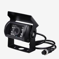 Carro traseiro câmaras de vista estacionamento sensores câmera 18 LED Night Vision Backup à prova d'água impermeável à prova de choque para pickups de reboque de caminhão RV