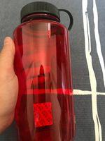Garrafas 1000ml de água vermelha Cor Dull polonês garrafa Sports viagem chaleira Yoga Mugs Outdoor Camping Plastic Cup