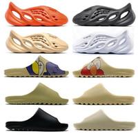 2021 Mode Folien Schaumläufer Wüste Sand Earth Braun Harz Herren Womens Slipper Pantoufle Luxe Männliche Weibliche Sandale Hausschuhe