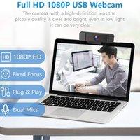 K2 камера 1080P Full HD 2 Mega веб-камера с микрофоном USB веб-камера CMOS для рабочего стола компьютера ноутбука