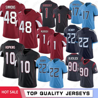 DeAndre Hopkins Kyler Murray 2020 Uomini maglie Isaia Simmons Derrick Henry Larry Fitzgerald Ryan Tannehill Ross Blacklock Calcio Maglie