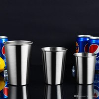 230ml 350ml 500ml Pint Cups Stainless Steel Cups Shatterproo...