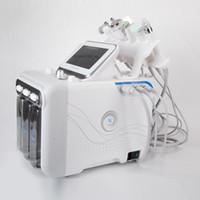 NUOVO 6 IN1 Trattamento facciale H2O2 Hydra Aqua Acqua Skin Peel Dermabrasione Pulizia profonda RF Ultrasuoni BIO Rimozione della rughe Beauty Machine