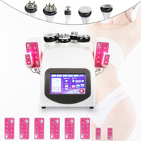 Neue Ankunft 6 in 1 Ultraschall Kavitation abnehmen Maschine 40K Ultraschall Fat Burning Lipolaser Cavitation RF Vacuum Body Weight Loss