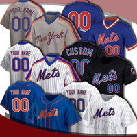 Personalizado Mets Jersey 20 Pete Alonso Jerseys 48 Jacob Degrrom 31 Mike Piazza Jersay Michael Conforto Dwight Gooden Darryl Strawberry Jerseys