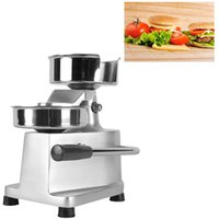 ITOP 130mm manual hamburger noodle press, stainless steel sturdy and durable food processor round meat forming food processor