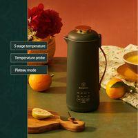 Juicers 220V Soymilk Maker Eléctrico Juicer Blender Soja-feijão Máquina de Leite Rice Pasta Multicooker com MarqueMet Free-Filter