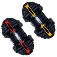Hanteln Schwarz Arm Muskelfestigkeit Training Gewichtheben Automatische Einstellbare Hantel 40kg 90lbs
