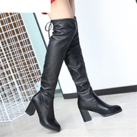 2020 Winter Women' s Boots Fashion Over The Knee Long Bo...