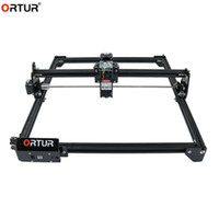 프린터 DIY 레이저 조각사 CNC 조각 기계 미니 프린터 32 비트 마더 보드, 작업 영역 40x43cm, 로고 마킹 나무 아크릴