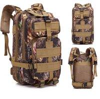 Сумки на открытом воздухе Водонепроницаемый высококачественный тактический рюкзак армии спортивные спортивные рюкзак кемпинг походный альпинизм охота 40л