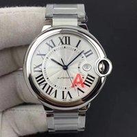 svizzero di lusso mens orologi di marca orologio orologi V6 qualità eccellente testa specchio fisheye zaffiro intarsiato con rotondo della gemma di colore e il carattere rotondo