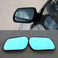 مازدا 6 2011 سيارة مرآة الرؤية الخلفية زاوية واسعة القطع الزائد الأزرق مرآة السهم LED تحول أضواء الإشارة
