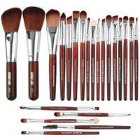 22Pcs 메이크업 브러쉬 세트 브로우 아이 라이너 파운데이션 브러쉬 maquiagem 파우더 블러쉬 전문 부엌 화장품 브러쉬 미용 도구