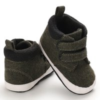 Erste Wanderer Ebainel Winter Infant Baby Booties Jungen Mädchen Krippe Schuhe Mode Kausal Leinwand Weiche Kleinkind Sneakers Vorkehrte Für 0-18m