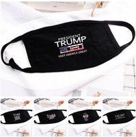 Маски для лица Trump Хлопка Черного Велоспорт против -Dust Женщина Мужчины Мужской Модельер Маска Printed моющейся маски для лица 5 Стилей Hotsell FY9122