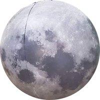Надувная лунный шар 12-дюймовый диаметр веселья летний подарок для детей или взрослых Земля натуральная спутниковая модель, подходящая для обучения науки