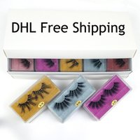 25mm Lashes Wholesale 10 styles 25 mm False Eyelashes Thick ...