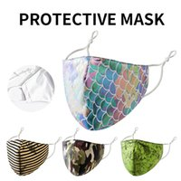 Bling Bling Fashion Face Mask Dustproof Breathable Protectiv...