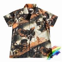 Impression Shirt Hommes Femmes 1 Plage Top qualité d'été style décontracté en vrac Top Chemises