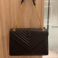 2020 Luxo Mulheres Bolsa De Couro Moda Casual Chain Messenger Messenger Bag Famoso Classic Bolsas Marca Designer Crossbody Bag Leltice