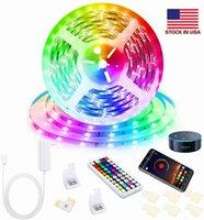 良い品質LEDストリップLight RGB 5M 5050 SMD 150 30LED防水IP65 + RF 44Keyコントローラ+ 5A電源ボックスクリスマスプレゼント