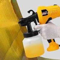 800ml électrique à main Pistolet Peinture Pulvérisateurs haute puissance électrique Accueil Airbrush pour la peinture Voitures Meubles en bois mur Travail du bois