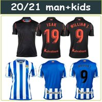 2020 2021 Real Sociedad maglie calcio WILLIAN J. OYARZABAL Agirretxe Juanmi personalizzato casa lontano 20 21 Royal Society per adulti bambini Football Shirt