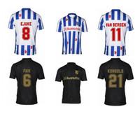Personalizzato Heerenveen 20-21 6 FAIK 8 EJUKE 11 VAN BERGEN THAI Qualità Sport Jerseys vicino a me 14 Dresevic 20 Veerman Jersey di abbigliamento personalizzato