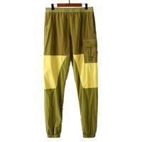 TopStoney 2021SS Стиль Весна и осень Новые Нейлоновые брюки Модные Бренд Мужские Случайные Брюки Ноговые Повседневные Леггинсы Спортивные штаны