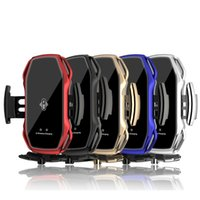 A5S Car wireless charger Holder Automatic Sensor Car Phone Holder Wireless Charger Phone Car Holder Mobile Stand Mount