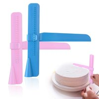 Cake Scraper Smoother Adjustable Fondant Spatulas Cake Edge ...