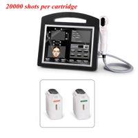 Professionnel HIFU 4D 3D machine 20000 Tirs à haute intensité Ultrasons Focalisés Hifu Face Lift Visage du sein et Beauté DHL corps