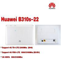 Разблокирована Huawei B310 B310s-22 с антенной 150Mbps 4G LTE CPE WIFI МАРШРУТИЗАТОРА модем с щелевым Sim-карты до 32 устройств