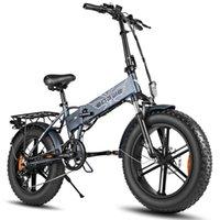 US stock Электрический велосипед 48 В 500 Вт Складные электрические велосипедные жирные шины E Bike Mountain Bike Off Road Высокоскоростной электрический скутер W41215024