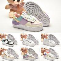 Force 1 Shadow 2020 Novas patim corte baixo ar Sombra Funcionamento das crianças sapatos desporto juvenil criança menino menina Sneaker tamanho 26-35