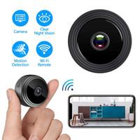 A9 1080P 풀 HD 미니 비디오 캠 와이파이 카메라 IP 무선 보안 숨겨진 카메라 실내 홈 감시 야간 투시 작은 캠코더