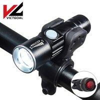 أضواء الدراجة الفينفيال USB ضوء قابلة للماء LED للدراجات مشرق MTB الطريق ركوب الدراجات الجبهة