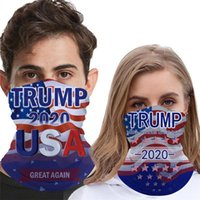 2020 Trump Presidente triángulo mágico de la bufanda EE.UU. Trump Elección de múltiples funciones de la bicicleta tubular Sombreros Turbantes Bandana Máscara DDA354