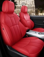 Custom Fit Car Accessories Seat Covers Specific For 5 seater Full set seat Cushion Mat for Sudan SUV Top Quality Leather Covers For Cars 005