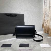 2020 الغروب حقائب crossbody سلسلة فضية سلسلة الكتف الكلاسيكية سلسلة حقيقية حقيقية حقائب جلدية الغبار حقيبة هدية مربع الساخنة solferino صندوق تكنولوجيا المعلومات
