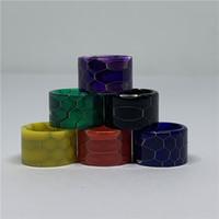 Vollständiger Verkaufspreis Top-Qualität TFV8 Baby-V2-Stick V9 Max TFV16 Schlangen-Haut-Epoxidharz-Drip Tip