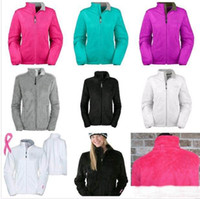 New North osito Mäntel weiche Fleecejacken Mäntel Mode Frauen beiläufige Marken Damen Herren Kinder Ski-unten warme Mäntel S-XXL Schwarz Pin