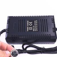 Высокое качество 24V Smart зарядное устройство свинцово-кислотный аккумулятор электрический самокат адаптер питания E-Scooter зарядное устройство 24V 1.8A с видом EU 220V