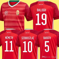 2020 2021 Hungary soccer jersey home red 20 21 national team...