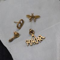 D Home Online Celebrity Bee Letter Letter CD orecchini orecchini