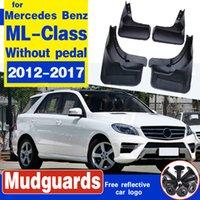 Pour Benz M-Class ML-classe W166 2012-2017 boue Garde-boue flaps voiture gardes Garde-boue avant accessoires de roue arrière de style auto