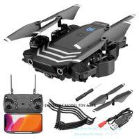 LS11 4K HD كاميرا مزدوجة WIFI FPV المبتدئين الطائرة بدون طيار لعبة، المسار الطيران، ارتفاع الإيقاف، أضواء LED، لفتة خذ صور، 1800 ما البطارية، 01/02