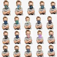 2020 NEW schnelles Schiff Halloween-Kinder-Gesichtsmaske Schutz Kinder Outdoor Radfahren Neckscarf Stirnband Bandanas Turban Partei Masken FY7148ZK Maske